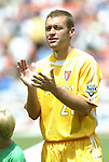 31 August 2004: Jimmy Conrad. The MLS Eastern Conference All Stars defeated the MLS Western Conference All Stars 3-2 at RFK Stadium in Washington, DC in the Major League Soccer Sierra Mist All-Star Game..