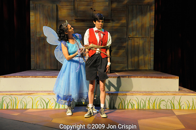 """Paint Box Theatre """"Pinocchio..© 2009 JON CRISPIN .Please Credit   Jon Crispin.Jon Crispin   PO Box 958   Amherst, MA 01004.413 256 6453.ALL RIGHTS RESERVED."""