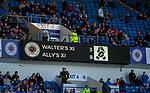 24.3.2018: Rangers legends match:<br /> Full time result
