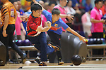 Shota Koki (JPN), <br /> AUGUST 23, 2018 - Bowling : <br /> Men's Trios Block 1 <br /> at Jakabaring Sport Center Bowling Center <br /> during the 2018 Jakarta Palembang Asian Games <br /> in Palembang, Indonesia. <br /> (Photo by Yohei Osada/AFLO SPORT)