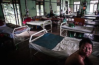 Patients of baptist leprosy hospital