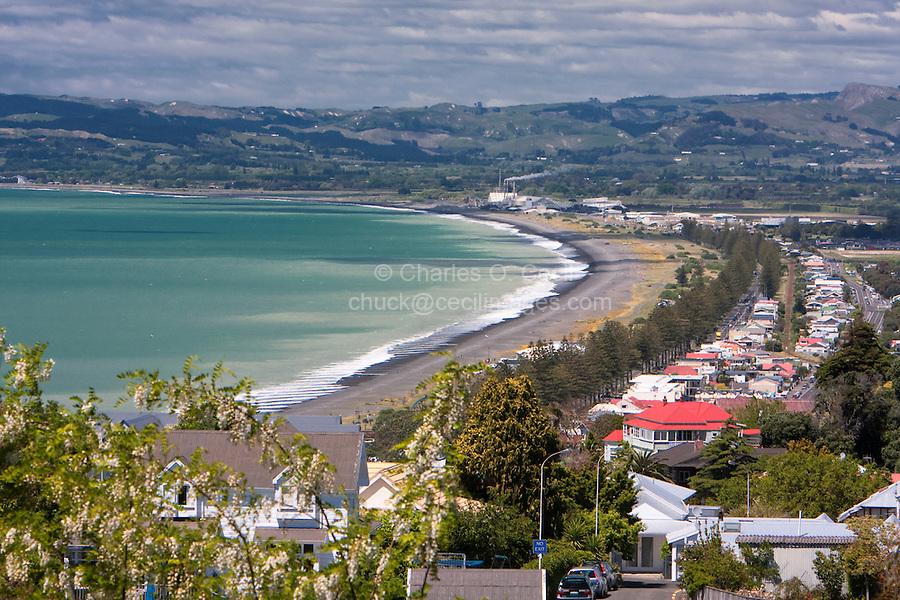Napier, New Zealand, from Napier Bluff.
