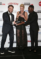 BEVERLY HILLS, CA - NOVEMBER 8: Seth Rogen, Charlize Theron, David Oyelowo, 33rd American Cinematheque Award Presentation Honoring Charlize Theron at The Beverly Hilton Hotel in Beverly Hills, California on November 8, 2019. Credit Faye Sadou/MediaPunch