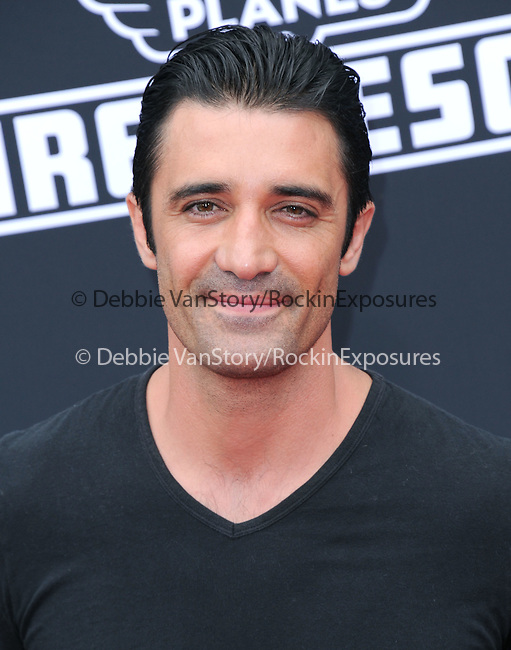 Gilles Marini attends The Disney PLANES: FIRE & RESCUE Premiere held at The El Capitan Theatre in Hollywood, California on July 15,2014                                                                               © 2014 Hollywood Press Agency
