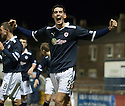 Raith's Brian Graham celebrates after he scores Rovers' second  ...