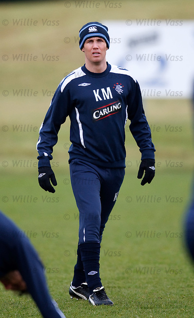 Kenny Miller at training