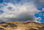 A late winter storm builds over the Panamint Range and Valley of Calif.