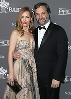 CULVER CITY - NOVEMBER 10:  Leslie Mann and Judd Apatow at The 2018 Baby2Baby Gala Presented By Paul Mitchell Event on November 19, 2018 at 3Labs in Culver City, California. (Photo by Scott Kirkland/PictureGroup)