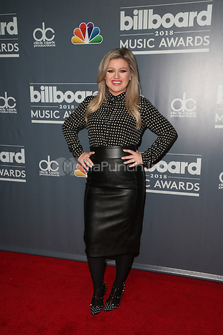 LOS ANGELES, CA - MAY 17: Kelly Clarkson at the event promoting the 2018 Billboard Music Awards at Universal Studios in Los Angles, California on May 17, 2018. Credit: Faye Sadou/MediaPunch