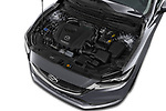 Car Stock 2018 Mazda Mazda6 Dynamique 4 Door Sedan Engine  high angle detail view