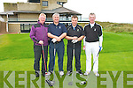 Captain's Day : Compeeting in the Captain's Day event at Ballybunio Golf Club on Saturday last were PJ Houlihan, Pat O'Sullivan, David Toomey & Mike Houlihan.