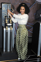 MAR 08 Yara Shahidi at The Empire State Building for Barbie's 60th Anniversary