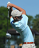 JP Kilcullen of St. Mary's tees off on the 1st Hole of Bethpage State Park's Black Course during the New York State Federation Golf Tournament on Sunday, June 7, 2015.<br /> <br /> James Escher