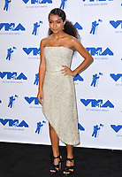 Yara Shahidi in the press room for the 2017 MTV Video Music Awards at The &quot;Fabulous&quot; Forum, Los Angeles, USA 27 Aug. 2017<br /> Picture: Paul Smith/Featureflash/SilverHub 0208 004 5359 sales@silverhubmedia.com