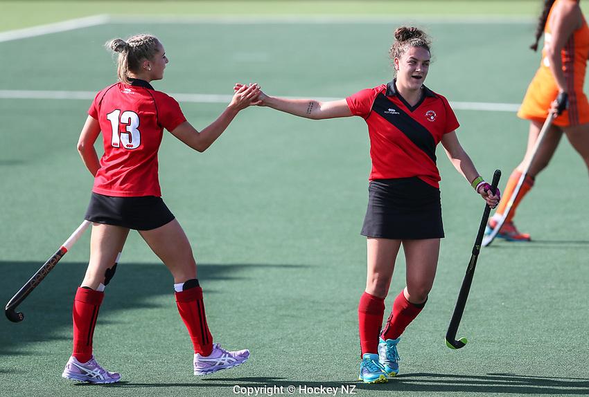 Canterbury v Midlands Women. Under 21 National Hockey Championships, North Harbour Hockey Stadium, Auckland, Tuesday 7 May 2019. Photo: Simon Watts/Hockey NZ