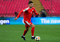 17th November 2019; Stadion Rajko Mitic, Belgrade, Serbia; European Championships 2020 Qualifier, Serbia versus Ukraine; Nemanja Radonjic of Serbia comes forward on the ball - Editorial Use