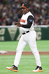 Hensley Meulens (NED), <br /> MARCH 12, 2017 - WBC : <br /> 2017 World Baseball Classic <br /> Second Round Pool E Game <br /> between Japan 8-6 Netherlands <br /> at Tokyo Dome in Tokyo, Japan. <br /> (Photo by YUTAKA/AFLO SPORT)