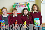 Pupils at Scoil Naomh Eirc in Kilmoyley who won a local art competition by O'Mahony's bookshop in Tralee. .L-RJessica O'Sullivan, Robert Monahan, Shannon Sheehan and Ellen Cooke