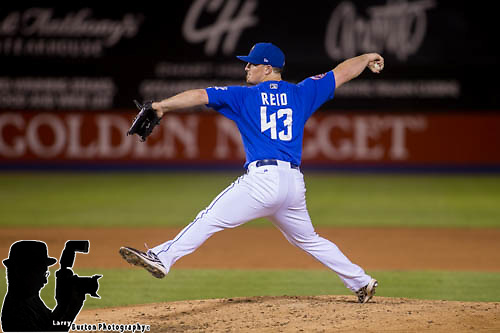 Reno Aces vs LV51s during game 2 of their PCL Conference Championship Series at Cashman Field <br /> Reno blows out 51s 6-0