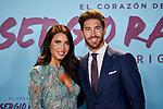 "Sergio Ramos and Pilar Rubio attends to ""El Corazon De Sergio Ramos"" premiere at Reina Sofia Museum in Madrid, Spain. September 10, 2019. (ALTERPHOTOS/A. Perez Meca)"