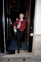 LONDON, ENGLAND - OCTOBER 08 :  Joanne Clifton leaves the production of 'Strictly Come Dancing : It Takes Two', at The Hospital Club Studios on October 08, 2018 in London, England.<br /> CAP/AH<br /> &copy;AH/Capital Pictures