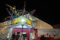SAO PAULO, SP, 24 DE JULHO 2012 – Festival Anima Mundi tem sessao de abertura para convidados no Memorial da America Latina, zona oeste de Sao Paulo, nesta noite de terca-feira. O festival internacional de animacao esta em sua 20ª edicao no pais e fica do dia 25 a 29 de julho. (FOTO: THAIS RIBEIRO / BRAZIL PHOTO PRESS).