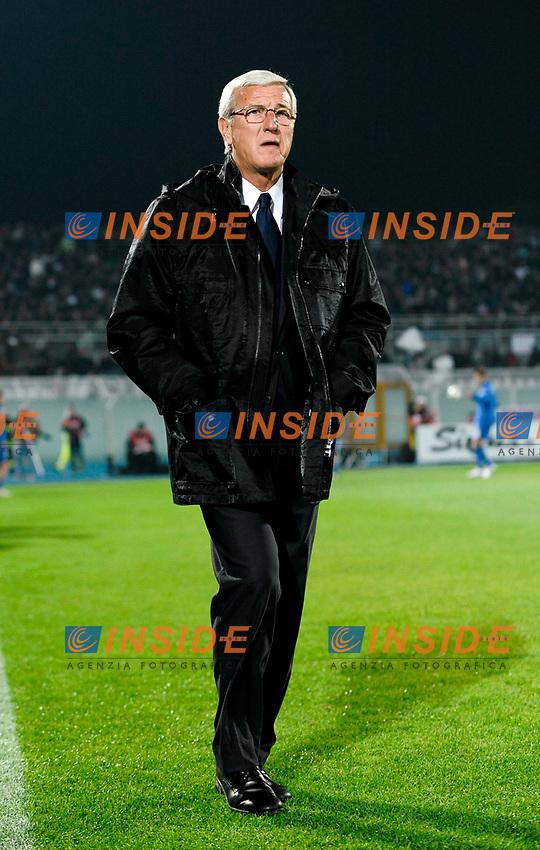 Marcello LIPPI allenatore Italia<br /> Italy's coach Marcello LIPPI<br /> Pescara 14/11/2009 Stadio &quot;Adriatico&quot;<br /> Italia Olanda / Italy Netherlands 0-0<br /> Friendly Match<br /> Foto Andrea Staccioli Insidefoto