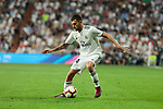 Real Madrid's Dani Ceballos during La Liga match between Real Madrid and Atletico de Madrid at Santiago Bernabeu Stadium in Madrid, Spain. September 29, 2018. (ALTERPHOTOS/A. Perez Meca)