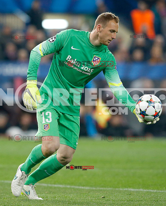 Atletico de Madrid's Jan Oblak during Champions League 2014/2015 match.March 16,2015. (ALTERPHOTOS/Acero) /NORTEphoto.com