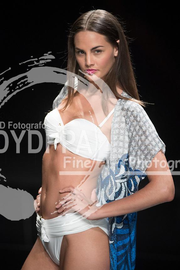 Model Sara San Martin poses