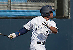 March 10, 2012:   Nevada Wolf Pack's Jay Anderson swings against the UC Santa Barbara Gauchos  during  their NCAA baseball game played at Peccole Park on Saturday afternoon in Reno, Nevada.
