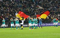 Deutsche Mannschaft bedankt sich bei den Fans - 23.03.2018: Deutschland vs. Spanien, Esprit Arena Düsseldorf