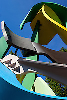 Photography of the Garden sculpture by Jerry Peart in front of Carillon Tower in Uptown, Charlotte, North Carolina.<br /> <br /> Charlotte Photographer - PatrickSchneiderPhoto.com