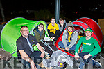 Members of Burger King and Subway doing it for Focus Ireland supporting the homeless by having a 24 hour sleep out fundraiser on Friday night.   <br /> Front l to r: Alexander Biriuc, Justin Hanafin, Ann Hogan (Charity Branch Champion Organiser), Christopher Tearle, Thomas McQuinn and Christopher O'Connell.
