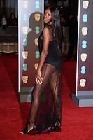 AJ Adudo arriving for the BAFTA Film Awards 2018 at the Royal Albert Hall, London, UK. <br /> 18 February  2018<br /> Picture: Steve Vas/Featureflash/SilverHub 0208 004 5359 sales@silverhubmedia.com