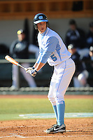 Jacob Stallings (Catcher) North Carolina Tar Heels (Photo by Tony Farlow/Four Seam Images)