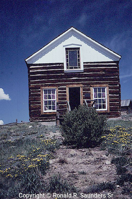 BUILDING AT OLD TOWN COLORADO IN FAIRPLAY