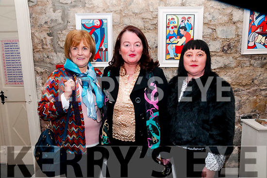 Johnny Barrett Tribute Show: Attending the Johnny Barret tribute show at St. John's Arts Centre, Listowel on Fridasy night last were Joan Buckley, Agnes Scanlon & Rose Moriarity.