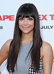 Hannah Simone attends The L.A. Premiere of Sex Tape held at The Regency Village Theatre  in Westwood, California on July 10,2014                                                                               © 2014 Hollywood Press Agency