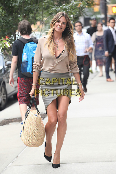 NEW YORK, NY - JULY 6: Heidi Klum seen on July 6, 2017 in New York City. <br /> CAP/MPI/DC<br /> &copy;DC/MPI/Capital Pictures