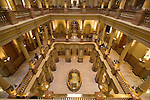 Colorado Capitol interior, Denver, Colorado, USA John offers private photo tours of Denver, Boulder and Rocky Mountain National Park.