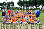 Young Laune Rangers footballers enjoying their Cúl Camp in Killorglin on Friday