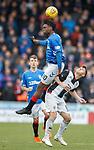 03.11.2018: St Mirren v Rangers: Ovie Ejaria and Danny Mullen