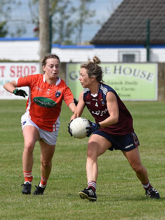 Westmeath Aileen Martin Armagh Aoife McCoy. Photo:Colin Bell/pressphotos.ie