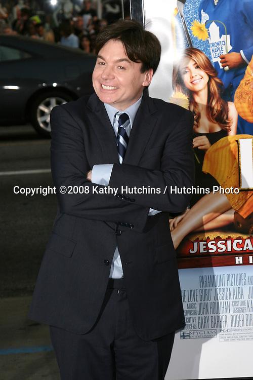 "Mike Myers.""Love Guru"" Premiere.Grauman's Chinese Theater. Los Angeles, CA.June 11, 2008.©2008 Kathy Hutchins / Hutchins Photo ."