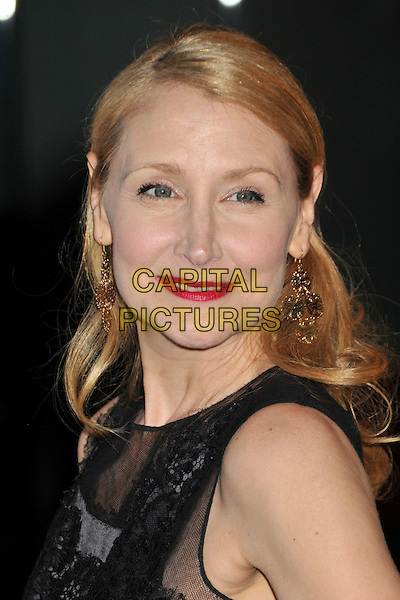 "PATRICIA CLARKSON.""Whatever Works"" Los Angeles Premiere held at the Pacific Design Center, West Hollywood, CA, USA..June 8th, 2009.headshot portrait gold earrings red lipstick black sheer .CAP/ADM/BP.©Byron Purvis/AdMedia/Capital Pictures."