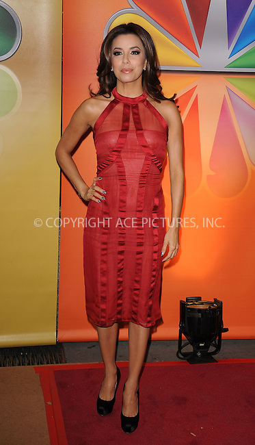 WWW.ACEPIXS.COM . . . . . ....May 14 2012, New York City....Actress Eva Longoria at NBC's Upfront Presentation at Radio City Music Hall on May 14, 2012 in New York City. ....Please byline: KRISTIN CALLAHAN - ACEPIXS.COM.. . . . . . ..Ace Pictures, Inc:  ..(212) 243-8787 or (646) 679 0430..e-mail: picturedesk@acepixs.com..web: http://www.acepixs.com