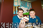 POOS THE BEST? Students Billy Donovan and Gavin Connolly from Mercy Mounthawk investigated which manure gives optimum vegetable growth with their project 'Poos the best' at the annual SciFest Science and Technology Fair held in the ITT on Tuesday.