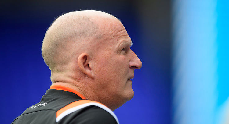 Blackpool manager Simon Grayson<br /> <br /> Photographer Chris Vaughan/CameraSport<br /> <br /> The EFL Sky Bet League One - Coventry City v Blackpool - Saturday 7th September 2019 - St Andrew's - Birmingham<br /> <br /> World Copyright © 2019 CameraSport. All rights reserved. 43 Linden Ave. Countesthorpe. Leicester. England. LE8 5PG - Tel: +44 (0) 116 277 4147 - admin@camerasport.com - www.camerasport.com