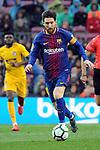 League Santander 2017/2018. Game: 28.<br /> FC Barcelona vs At. Madrid: 1-0.<br /> Lionel Messi.